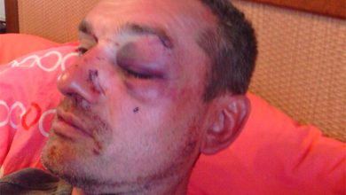 Photo of Гестаповцы Порошенко избили организатора митинга, на котором требовали отчёта власти
