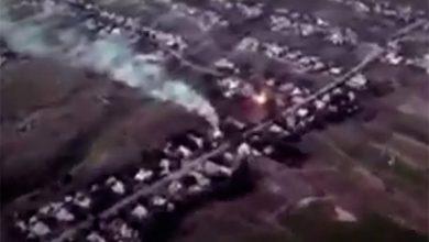 Photo of Видео с беспилотника киевских карателей