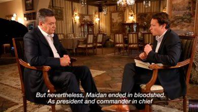 Photo of Легитимный президент Украины Виктор Янукович дал интервью каналу BBC