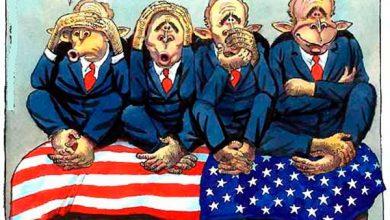 Photo of Вашингтонские шизофреники обвиняют Россию в милитаризме