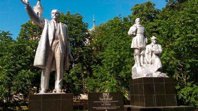 Photo of В Черниговской области восстановили памятник Ленину, снесённый украинскими нацистами