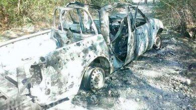 Photo of Фото уничтоженных автомобилей, в результате столкновения карателей друг с другом