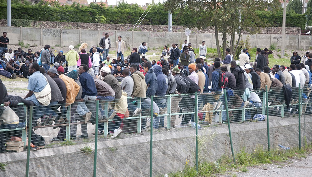 Беженцы из Африки и Ближнего Востока в Германии