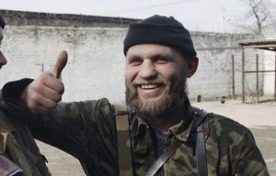 Николай Карпюк во время войны чеченских террористов против РФ