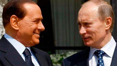 """Photo of Берлускони прибыл в """"крымнаш"""" на встречу с другом Владимиром"""