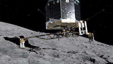 Photo of Видео приземления зонда на комету