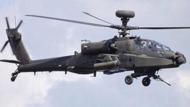 Photo of Боевой вертолет США в эскорте у террористов ИГИЛ