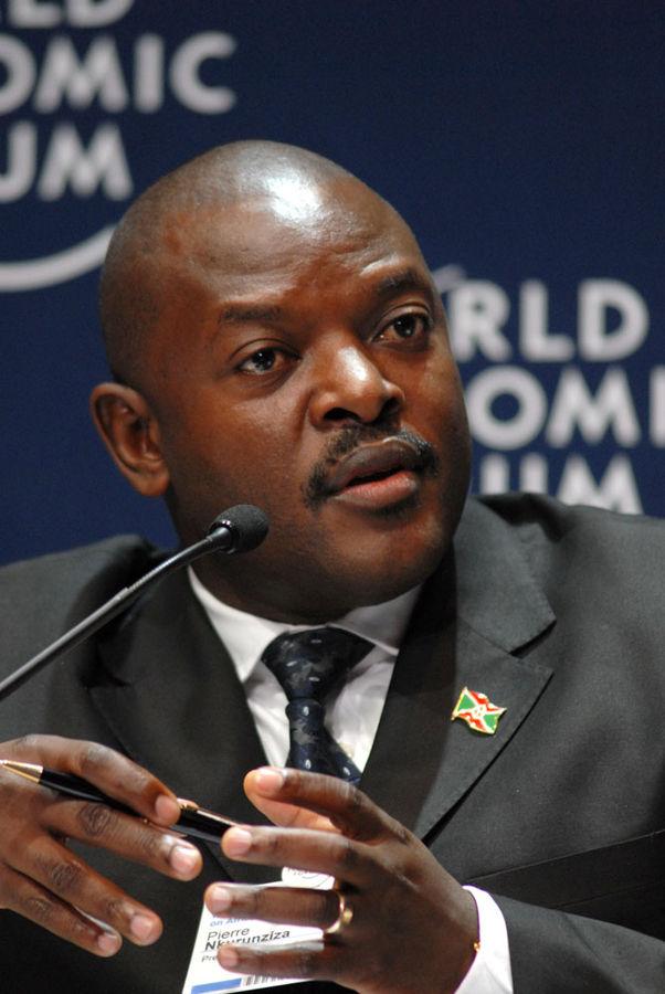 Пьер Нкурунзиза - президент Бурунди