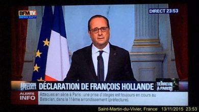 Photo of Терракт: взрывы и стрельба в Париже, погибли не менее 60 человек. Введён комендантский час