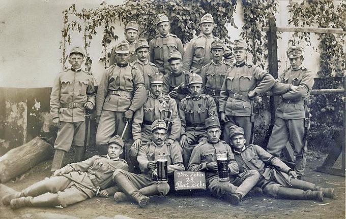 Команда австрийской жандармерии – орудия борьбы с «москвофильством»