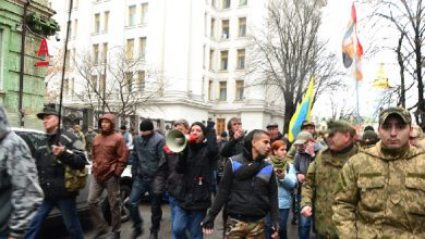 Photo of В Киеве штурмовали офис Ахметова  и освобождали из милиции сообщников
