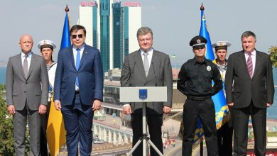 Photo of Аваков и Саакашвили чуть не подрались во время спора, кому загнать украинский завод