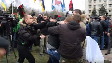 Photo of Майдауны в Одессе подрались из-за русского языка