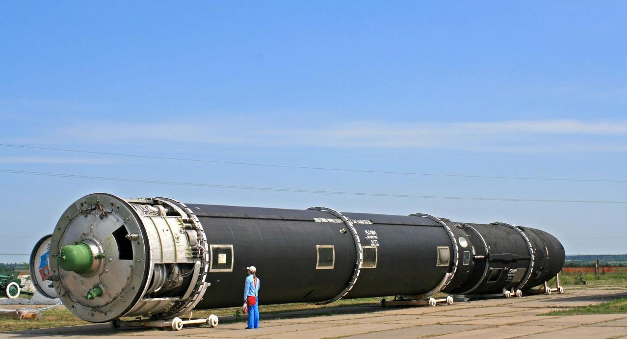 Межконтинентальная баллистическая ракета РС-28 «Сармат»