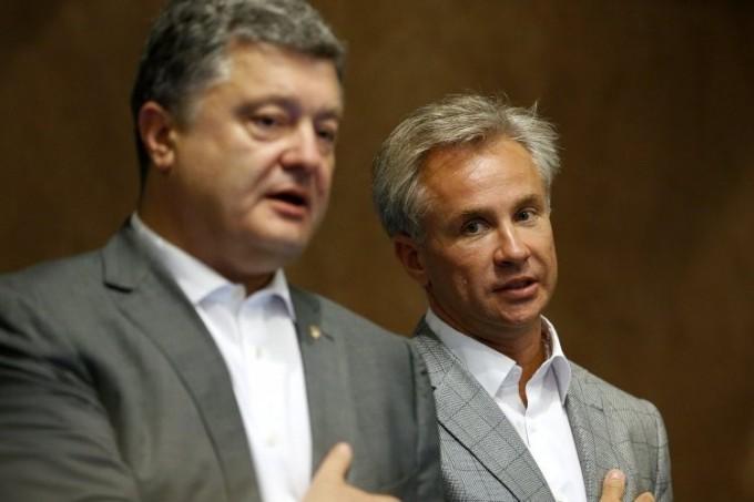 Пётр Порошенко и Юрий Косюк