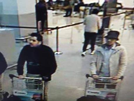 Фото предполагаемых террористов