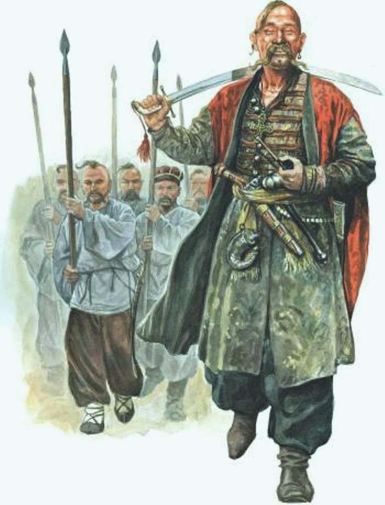 Запорожские казаки никогда не называли себя «украинцами». Они вообще не знали что это такое и что это слово можно применять для обозначения своего происхождения.