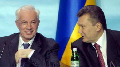 Photo of Лучшие премьер-министры Украины Азаров и Янукович с Азаровым