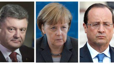 Photo of Меркель и Олланд потребовали от Порошенко провести выборы на Донбассе