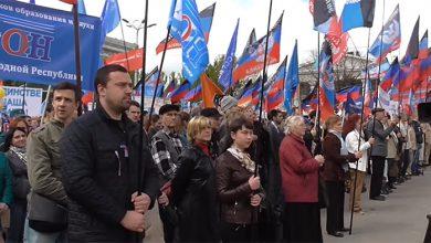 Photo of Донецк отпраздновал первомай
