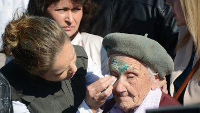 Photo of В Славянске фашисты облили зеленкой 91-летнюю героиню Великой Отечественной войны