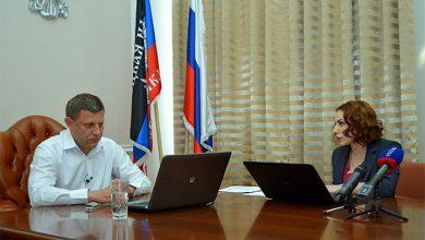 Photo of Глава ДНР Александр Захарченко пообщался с жителями Херсонской области
