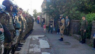 Photo of Бронетехника на улицах Ужгорода: отрабатывается карательная операция против жителей Закарпатья