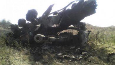 Photo of Сгорела батарея гаубиц карателей, которая била по Донецку