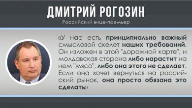 Photo of Россия предложила Молдавии восстановить экономические отношения