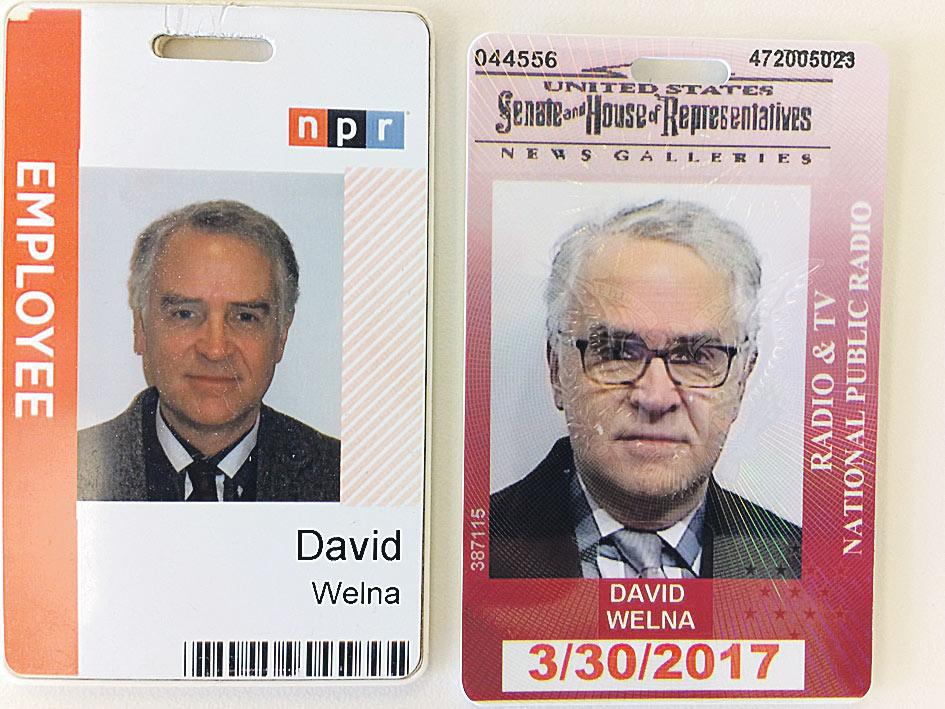 Аккредитация сотрудника американского «Национального общественного радио» для работы в зоне «АТО».