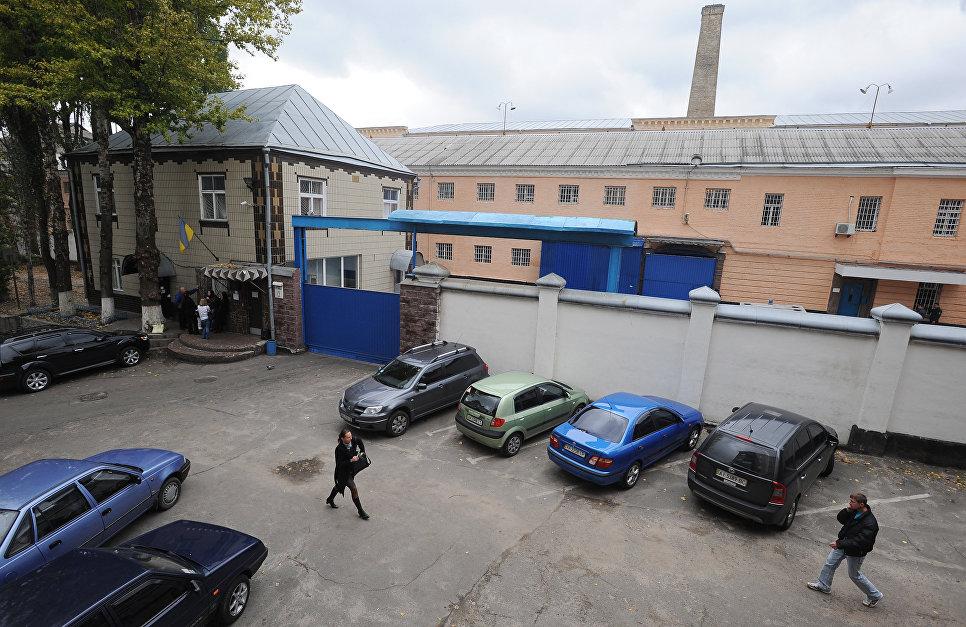 Здание следственного изолятора в Киеве