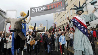 Photo of Сотни тысяч немцев вышли на улицы, протестуя против соглашения с США