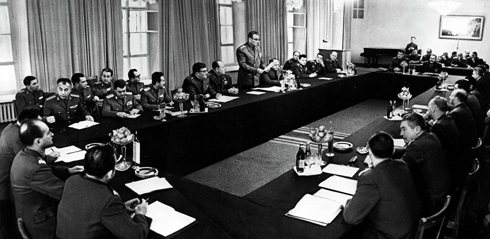 Совещание министров обороны государств-участников Варшавского Договора. 1968 год