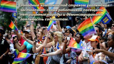 Photo of ЛГБТ тоталитаризм: корпорации заставляют своих работников «голубеть»