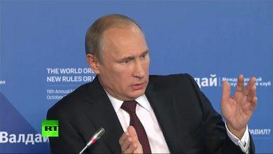 Photo of Путин рассказал, как киевские путчисты воруют миллиарды под крики о войне с Россией