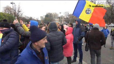 Photo of В Кишинёве против Додона митингуют прорумынские сепаратисты