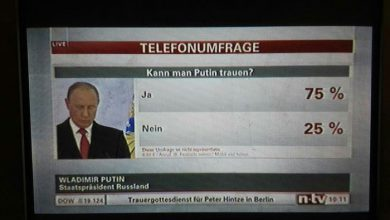 Photo of 80% немцев верят Путину