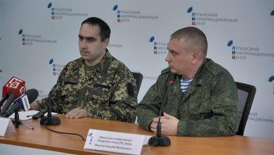 Photo of Брифинг перешедшего на сторону ЛНР военнослужащего ВСУ Олега Попова
