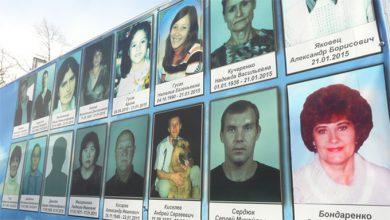Photo of Траурный митинг в годовщину обстрела города Стаханов киевскими карательными войсками