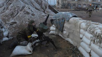 Photo of Бои под Авдеевкой 1 февраля 2017г.