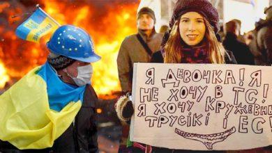 Photo of Визг украинской интеллигенции после снятой с головы кастрюли