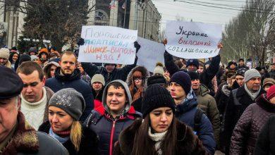 Photo of В Донецке митинговали с требованием от ООН «остановить фашистскую Украину»