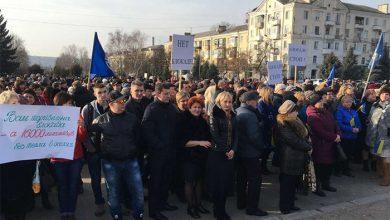 Photo of Порошенко организовал в Краматорске митинг против блокады ЛДНР