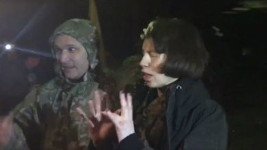 Photo of «Ветераны АТО» разбили яйца о физиономию Татьяны Чорновол