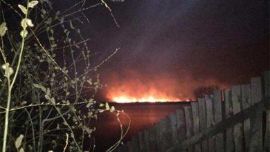 Photo of В Киеве опровергли крушение вертолёта, но подтвердили пожар