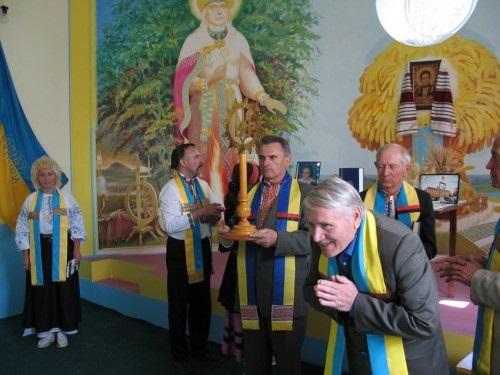 Представители украинской языческой секты «РУН-вера», это течение сразу стало развиваться после развала СССР на Украине