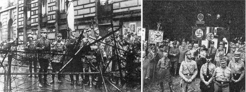 Участники «Пивного путча» – немецкого «майдана»