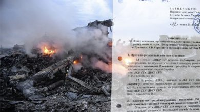 Photo of Секретные документы СБУ: MH-17 был сбит военным самолётом путчистов