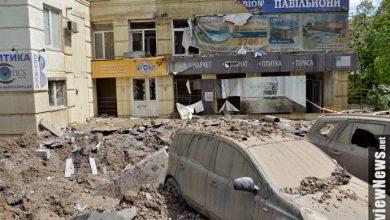 Photo of В Киеве рванула труба с горячей водой, фонтан лупил до 7-го этажа