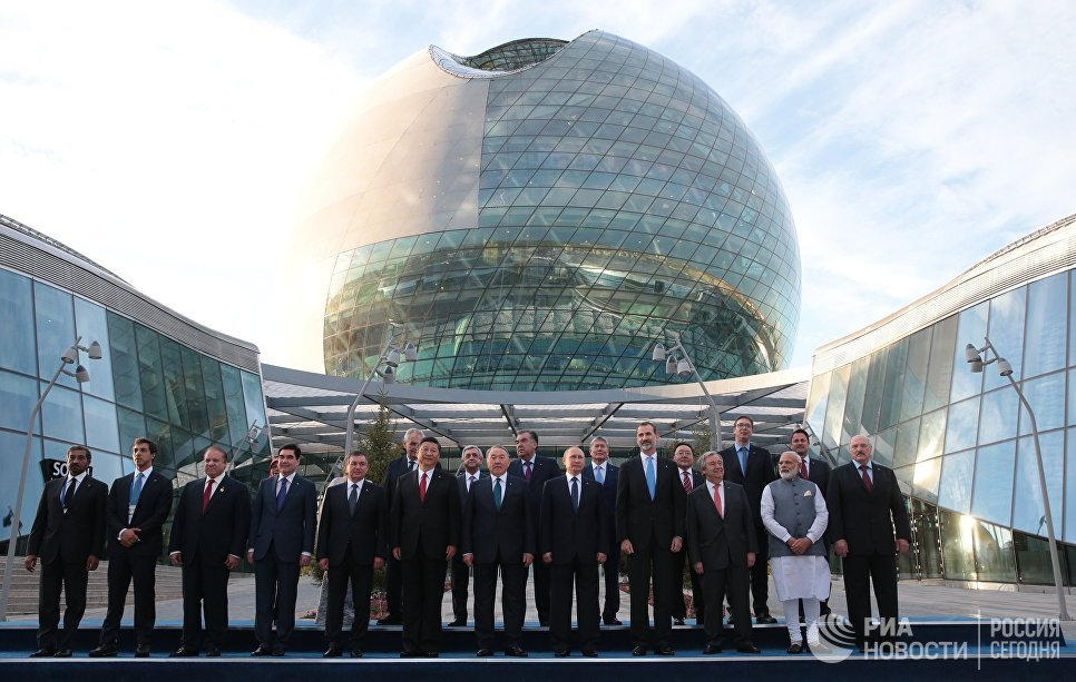 Открытие международной специализированной выставки «Астана ЭКСПО 2017»